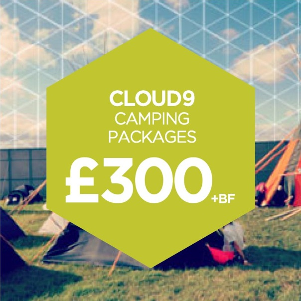 Cloud9 Camping Packages